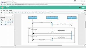 How To Draw Sequence Diagram Online