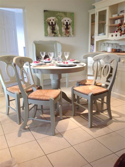 classic chic style country dining or kitchen table