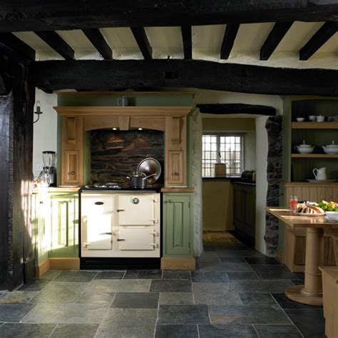 Slate Kitchen Flooring  Step Inside This Period Country