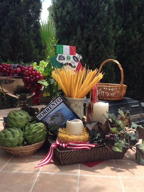 ideas  italian centerpieces  pinterest