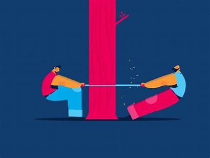 Teamwork Dribbble Animation Animated Vector Gifs Motion