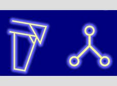 The symbols of the runes are showing people how to solve