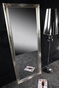Großer Spiegel Silber : gro er barock spiegel renaissance silber 185x75cm wandspiegel gro er barock spiegel renaissance ~ Indierocktalk.com Haus und Dekorationen