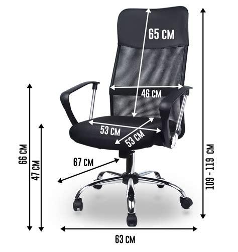 si鑒e plus air homekraft air plus fauteuil de bureau siège en tissu inclinable noir