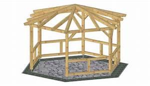 Holzpavillon Selber Bauen : holz pavillon bauanleitung f r den selbstbau bauplan holz ~ Orissabook.com Haus und Dekorationen