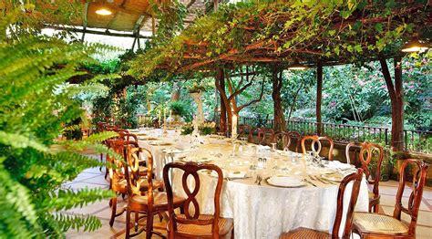 restaurant the garden garden restaurant in sorrento sorrento amalfi coast italy wedding locations