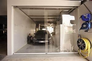 Bache Transparente Pour Terrasse : rideau de cabine de peinture azur b ches ~ Dailycaller-alerts.com Idées de Décoration