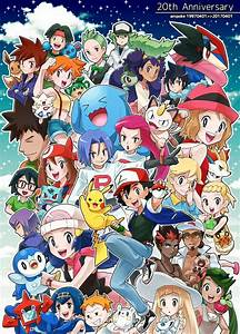 Happy 20th Anniversary Pokémon Ash and his Friends of ...