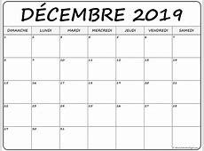 décembre 2019 calendrier imprimable calendrier gratuit