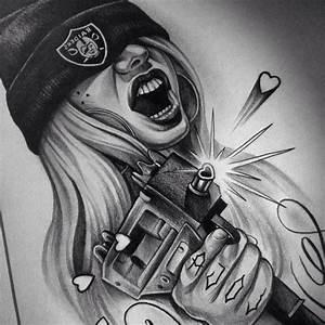 Drawings Of Graffiti Characters Girls - Graffiti Art