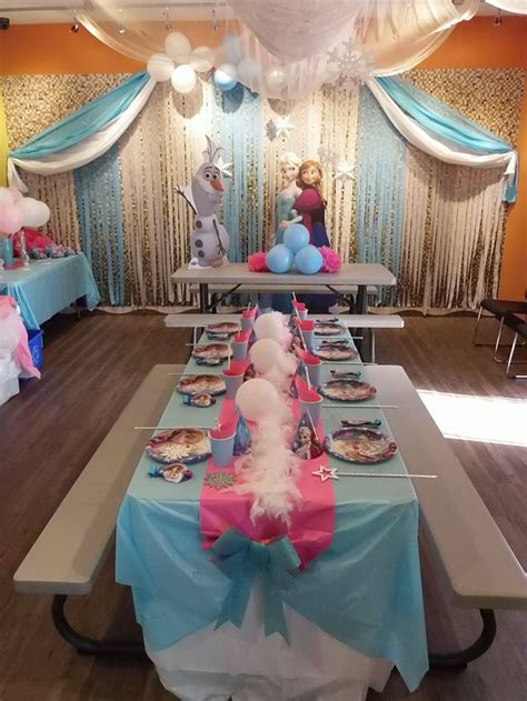 ideas  frozen theme party  pinterest