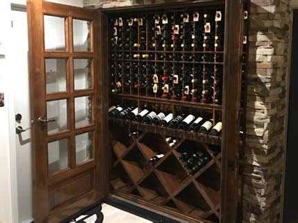 refrigerated wine cabinets  wine cellar furniture