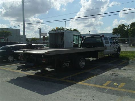 Ford Flatbed Tow Truck