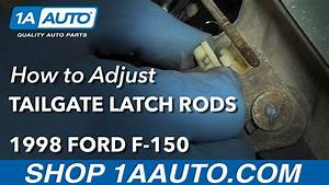 How To Adjust Tailgate Latch Rods 97-04 Ford F-150