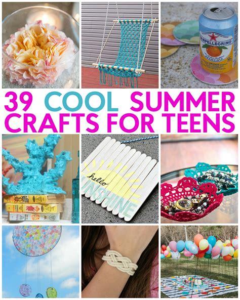 great teen summer crafts   craft   day