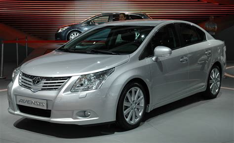 World Of Toyota by Official Images Of New 2009 Toyota Avensis It S