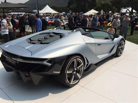 Lamborghini Centenario Roadster, 2016 Monterey Car