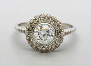 engagment rings vintage platinum wedding ring ipunya
