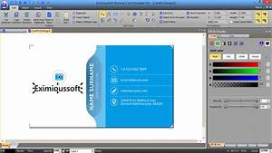 eximioussoft business card designer pro 301 With business card designer pro