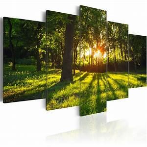 Bilder Natur Leinwand : wandbilder xxl leinwand bilder xxl wald landschaft natur ausblick c a 0076 b n ebay ~ Markanthonyermac.com Haus und Dekorationen