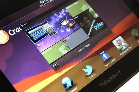 blackberry playbook to run android apps telefonosandroid