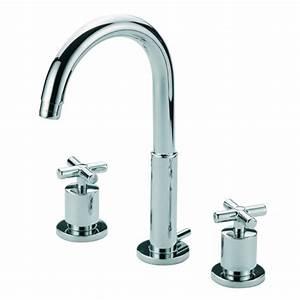 Robinet 3 Trous Lavabo : robinetterie lavabo 3 trous ~ Edinachiropracticcenter.com Idées de Décoration