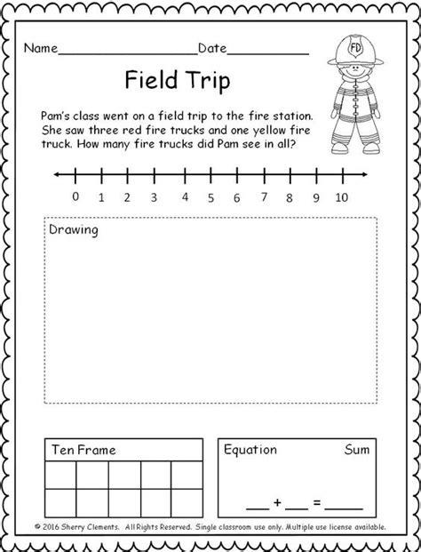 number line word problems worksheets ten frames number lines and word problems on