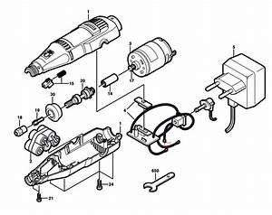 Dremel 850  F013085007  Parts List