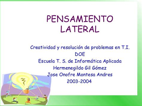 12 Pensamiento Lateral