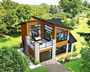 Modern House Building Plan Blueprints    Pdf 910 Sf New