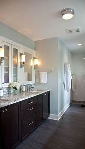 25 best ideas about dark cabinets bathroom on pinterest for What kind of paint to use on kitchen cabinets for mirror wall art ideas