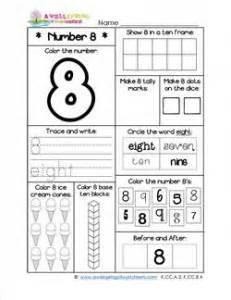 grade six math worksheets number worksheets for kindergarten number 8 worksheet