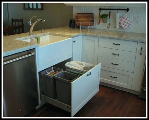 cabinet trash can ikea 17 best ideas about traditional kitchen trash cans on