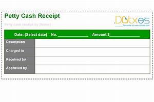 Petty Cash Receipt Petty Cash Receipt Template Dotxes