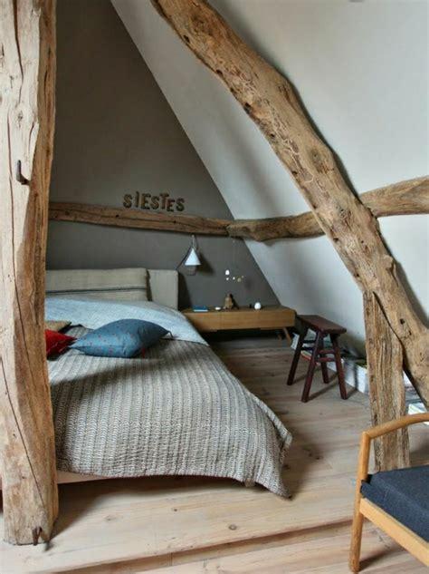 chambre avec poutre la poutre en bois dans 50 photos magnifiques