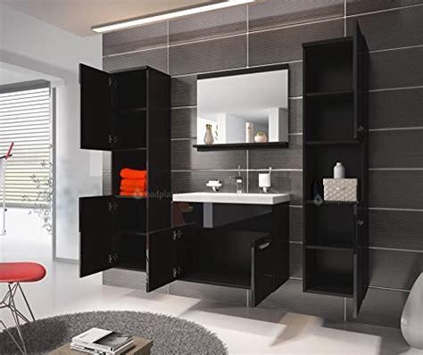 badezimmer unterschrank schwarz badezimmer badm 246 bel montreal xl 60 cm waschbecken schwarz
