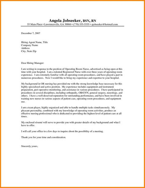 cover leter for nurses fresh graduate 10 sle of application letter to a hospital edu techation