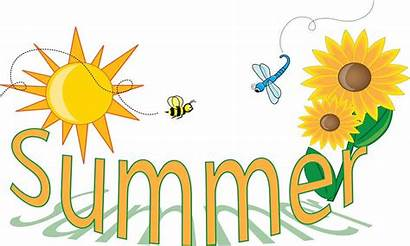 Summer Clip Clipart Coloring End Pages Lake
