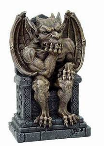 NEW Medieval Gothic Gargoyle Seated 'THE Thinker' Ornament ...