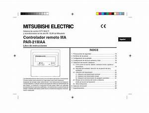 Mitsubishi Par 21maa J Manual