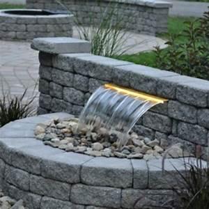 cascade et fontaine de jardin 69 deco pour les moments With fontaine de jardin moderne 3 la deco exterieure avec une fontaine murale archzine fr