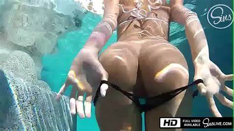 Distractingly Immense Boob Leads Pool