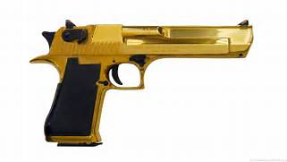 real gold guns  Real Golden Guns