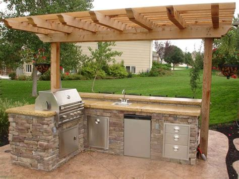 simple outdoor kitchen ideas outdoor grill designs outdoor kitchen grill ideas51