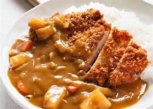 Riz Au Curry Japonais : katsu curry japonais au poulet au thermomix recette thermomix ~ Nature-et-papiers.com Idées de Décoration
