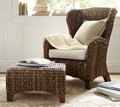 pottery barn seagrass wingback chair honey 1000 images about el encanto living room on