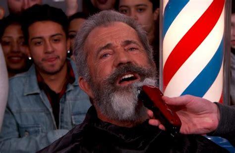 mel gibson  fan  shave  hipster beard clean    tv