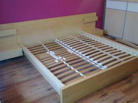 Ikea Malm Bett, Birke 160x200 Mit Nachttische Und