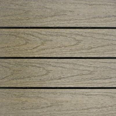 newtechwood ultrashield naturale 1 ft x 1 ft deck