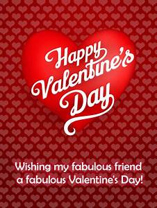 Heart Balloon Happy Valentine's Day Card | Birthday ...